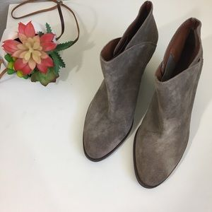 Lucky Brand Shoes - Lucky Brand Eesa gray suede booties